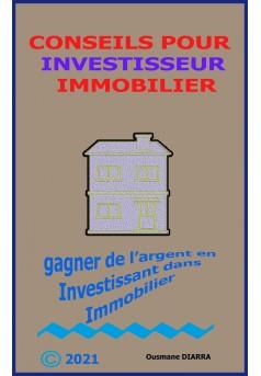conseils pour investisseur immobilier - Couverture Ebook auto édité