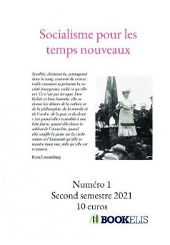 Socialisme pour les temps nouveaux - Couverture de livre auto édité