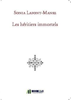 Les héritiers immortels - Couverture de livre auto édité