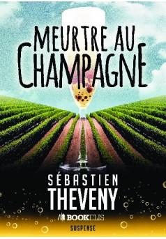 Meurtre au champagne - Couverture de livre auto édité