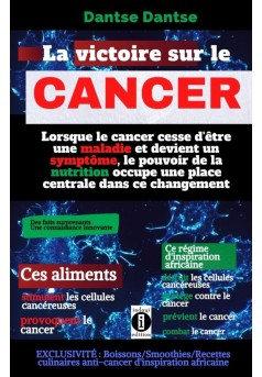 La victoire sur le cancer - Couverture Ebook auto édité