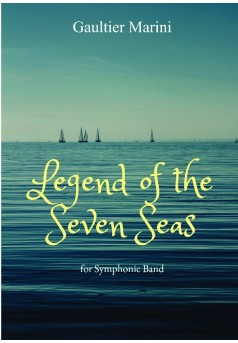 Legend of the Seven Seas - Couverture de livre auto édité