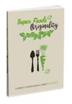 SUPER FOODS ORIGINALITY - Couverture Ebook auto édité