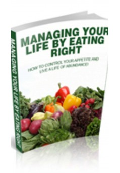 MANAGING YOUR LIFE BY EATING RIGHT - Couverture Ebook auto édité