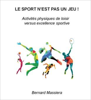 LE SPORT N'EST PAS UN JEU ! - Couverture Ebook auto édité