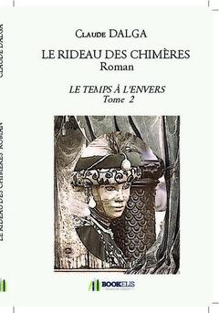 LE RIDEAU DES CHIMÈRES  Roman - Cover book
