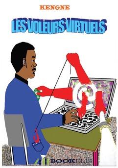 Les Voleurs Virtuels - Couverture de livre auto édité