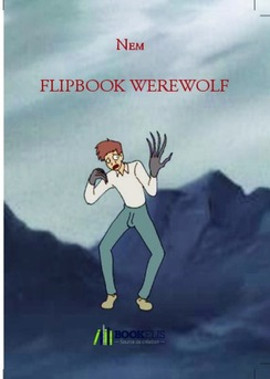 FLIPBOOK WEREWOLF - Cover book