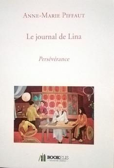 Le journal de Lina - Couverture Ebook auto édité