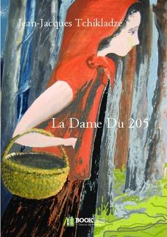 La Dame Du 205 - Couverture de livre auto édité