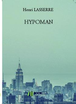 HYPOMAN - Couverture de livre auto édité