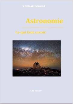 Astronomie ce qui faut savoir - Couverture Ebook auto édité
