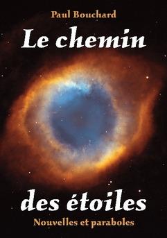 Le chemin des étoiles - Couverture de livre auto édité