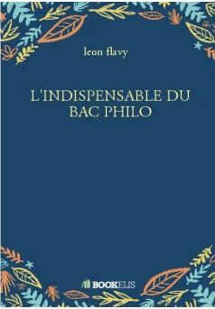 L'INDISPENSABLE DU BAC PHILO
