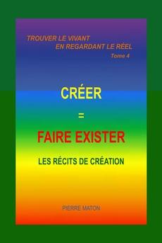 FAIRE EXISTER, C'EST CRÉÉR - Couverture Ebook auto édité