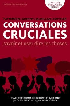 CONVERSATIONS CRUCIALES - Savoir et oser dire les choses - Couverture Ebook auto édité