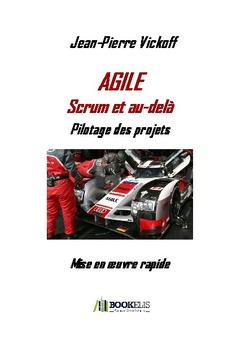 Agile Scrum et au-delà - Cover book