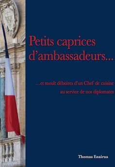 Petits caprices d'ambassadeurs - Couverture de livre auto édité