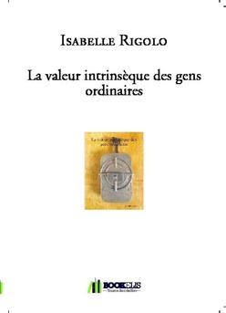 La valeur intrinsèque des gens ordinaires