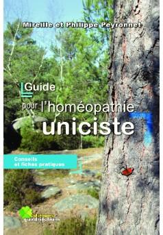 guide pour l'homéopathie uniciste - Couverture Ebook auto édité