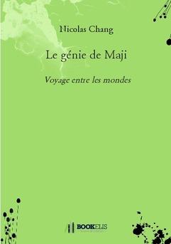 Le génie de Maji - Couverture de livre auto édité