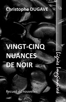 Vingt-cinq nuances de noir - Couverture Ebook auto édité