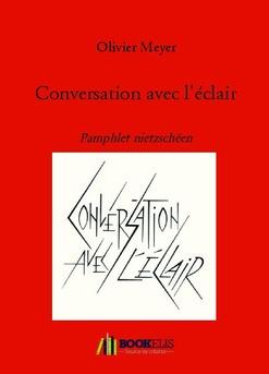 Conversation avec l'éclair - Cover book