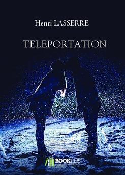 TELEPORTATION - Couverture de livre auto édité