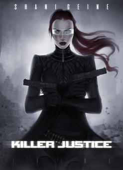 Killer Justice - Couverture Ebook auto édité