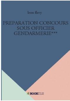 PREPARATION CONCOURS SOUS OFFICIER GENDARMERIE***