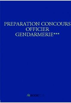 PREPARATION CONCOURS OFFICIER GENDARMERIE***