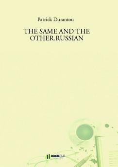THE SAME AND THE OTHER.RUSSIAN - Couverture de livre auto édité