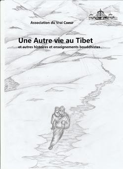 Une Autre vie au Tibet - Couverture Ebook auto édité