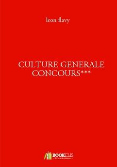 CULTURE GENERALE CONCOURS***