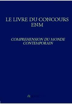 LE LIVRE DU CONCOURS ENM - Couverture Ebook auto édité