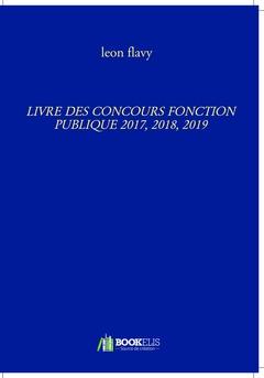 CONCOURS FONCTION PUBLIQUE LIVRE*****