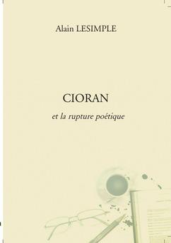 CIORAN  - Couverture de livre auto édité