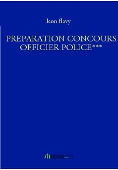 PREPARATION CONCOURS OFFICIER POLICE***