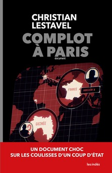 Complot à Paris - Couverture Ebook auto édité