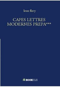 CAPES LETTRES MODERNES PREPA***