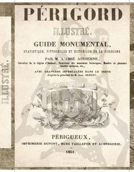 Le Périgord illustré - Couverture de livre auto édité