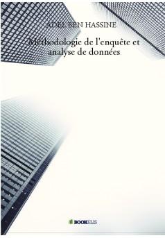 Méthodologie de l'enquête et analyse de données  - Couverture de livre auto édité