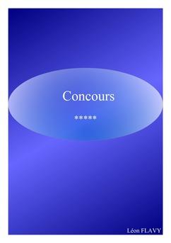 CONCOURS CPE 2017***** - Couverture Ebook auto édité