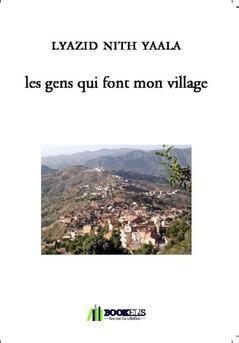 les gens qui font mon village - Couverture de livre auto édité