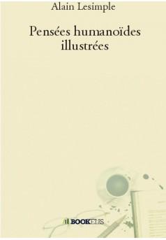 Pensées humanoïdes illustrées - Couverture de livre auto édité