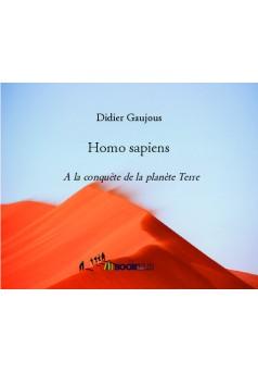 Homo sapiens - Couverture de livre auto édité