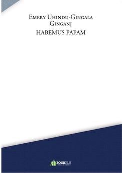 HABEMUS PAPAM - Couverture de livre auto édité