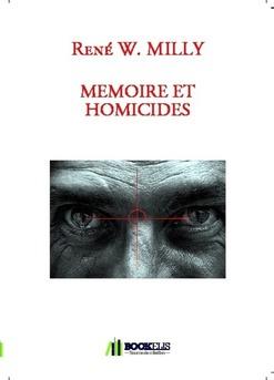 MEMOIRE ET HOMICIDES - Couverture de livre auto édité