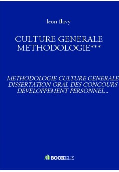CULTURE GENERALE METHODOLOGIE***