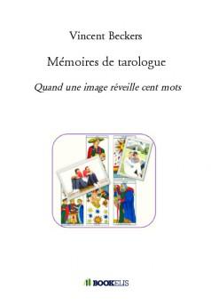 Mémoires de tarologue - Couverture de livre auto édité